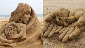 26 Μοναδικά αριστουργήματα φτιαγμένα εξ ολοκλήρου από άμμο-Θα πάθετε πλάκα!