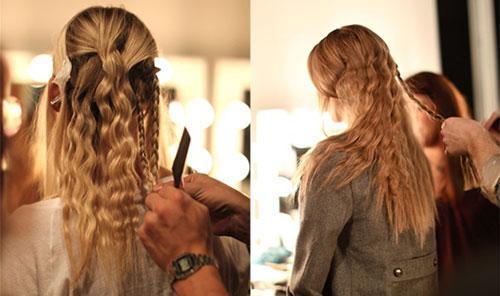 Υπέροχα χτενίσματα με κυματιστά μαλλιά εύκολα και γρήγορα για μοναδικές καλοκαιρινές εμφανίσεις