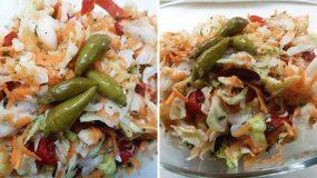 Μια φανταστική πικάντικη σαλάτα για να συνοδεύσετε τα ψητά σας