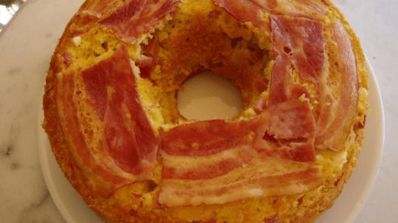 Αλμυρό κέικ της στιγμής με γιαούρτι εύκολα και γρήγορα