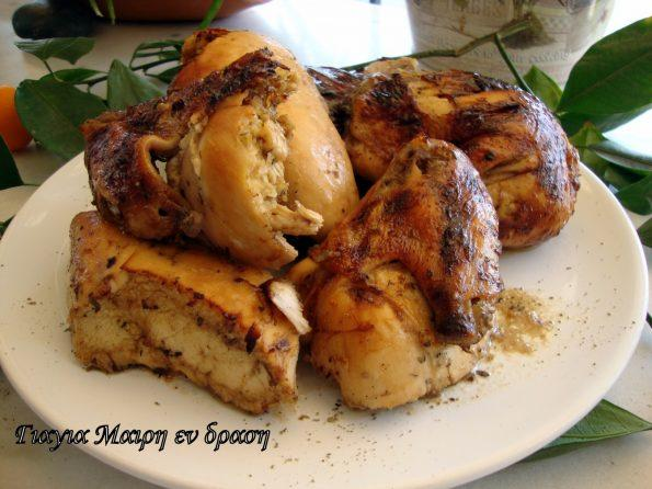 Πεντανόστιμο κοτόπουλο μαριναρισμένο...αλλιώς!