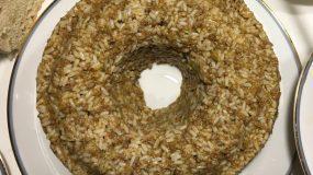Ρύζι με κιμά και μυρωδικά σαν κέικ!