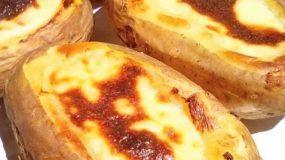 Γεμιστές πατάτες με κιμά και μπεσαμέλ!