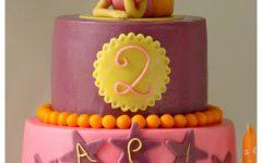 Πώς να στήσετε μια Διώροφη Τούρτα από Ζαχαρόπαστα-How to Stack a Two Tier Fondant Cake