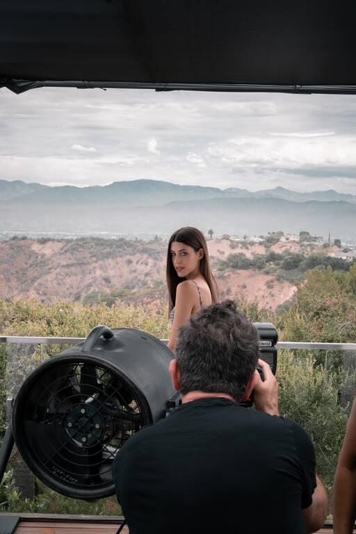 Demy: Φωτογραφίζεται στο Λος Άντζελες από το φωτογράφο της Beyonce!