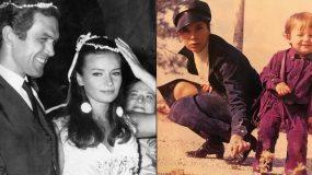 Τζένη Καρέζη: Σπάνιες φωτογραφίες της προσωπικής της ζωής με τον Κώστα Καζάκο και το γιο της!