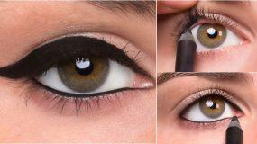 Πως θα κάνεις 5 εκπληκτικά μακιγιάζ, μόνο με ένα μολύβι ματιών