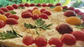 Αλμυρο cheesecake με βάση απο ντακο!