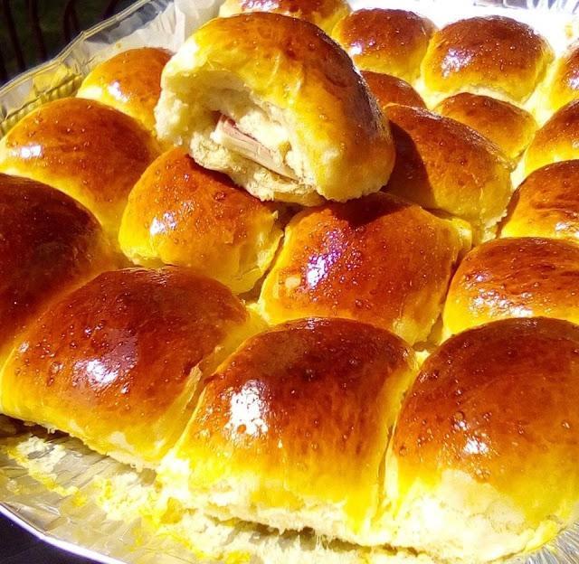 Ψωμάκια γεμιστά με φέτα