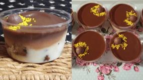 Εύκολο γλυκό σε ποτήρι με περισσεύματα