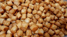 Συνταγή για κουρκουμπίνια! Το αγαπημένο σιροπιαστό από τα χεράκια μας!(1 Μονάδα Ανά 6 Περίπου Κομμάτια)