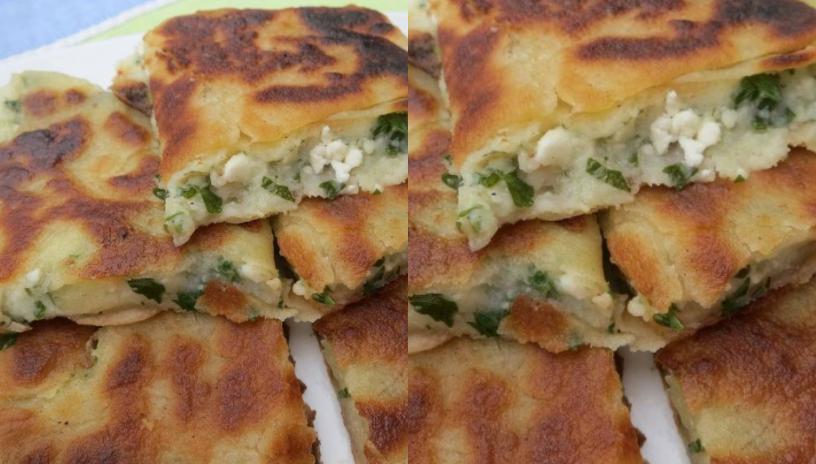 Η πιο λαχταριστή πίτα! Πατατέλι με τυρί για όλες τις ώρες