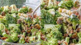 Υπέροχη σαλάτα με μπρόκολο που κι όμως! Θα λατρέψουν τα παιδιά!