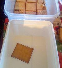 Τούρτα καραμέλας με μπισκότα!