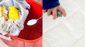 7+1 συμβουλές καθαριότητας που αποδείχτηκαν εντελώς λανθασμένες!