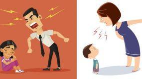 Τα χαστούκια και οι φωνές προκαλούν σοβαρά προβλήματα υγείας,  στα παιδιά!