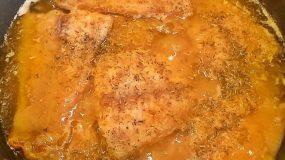 Συνταγή για φιλέτο Πέρκα σε λεμονάτη σάλτσα με μουστάρδα