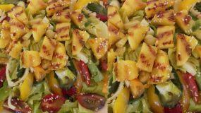 Σαλάτα  καλοκαιρινη με ανανά