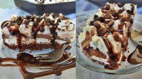 Δροσερό και αφράτο Μους κέικ