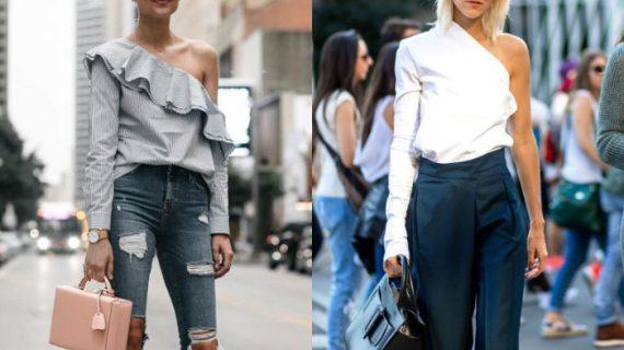 One Shoulder Top είναι το απόλυτο trend! Προτάσεις για casual και επίσημες εμφανίσεις!