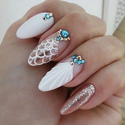 40 Φανταστικά σχέδια για γοργονέ νύχια και πως να τα φτιάξετε μόνες σας πανεύκολα!