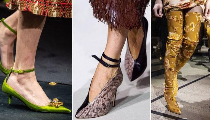 Τα must παπούτσια που θα πρωταγωνιστήσουν φέτος για το Φθινόπωρο/Χειμώνα 2019-2020