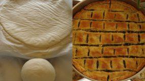 Η πιο εύκολη ζύμη για πίτες (και χωρίς αυγά)- Ιδανική και για αρχάριες