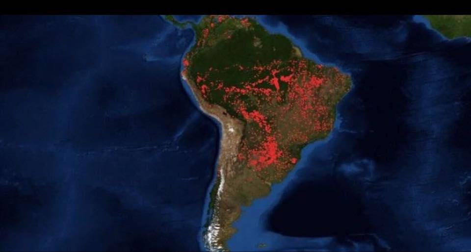 Η Ελλάδα μας, η Παναγιά των Παρισίων, και τώρα ο Αμαζόνιος! Παγκόσμια περιβαλλοντική τραγωδία!