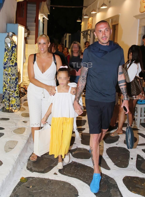 Έλενα Ασημακοπούλου: Βόλτες  με τον Μπρούνο Τσιρίλο και την κόρη τους! Φωτογραφίες