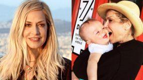 Άννα Βίσση: Δείτε τις υπέροχες φωτογραφίες με τα εγγόνια της να την αποχαιρετούν!