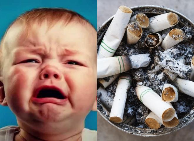 Το μωρό έφαγε καπνό ή τσιγάρο: Πρέπει αμέσως να δράσετε!