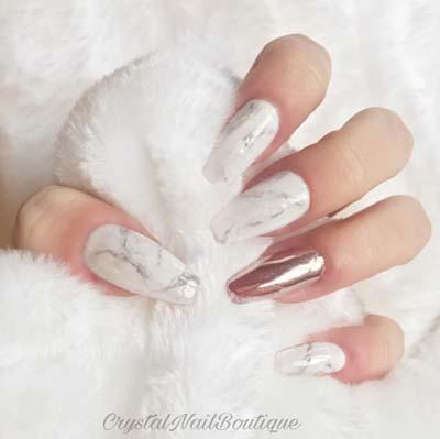 Μarble nails:Η νέα μόδα στα νύχια που έχει ξετρελάνει τις γυναίκες!35 Υπέροχα σχέδια και πως να τα κάνεις