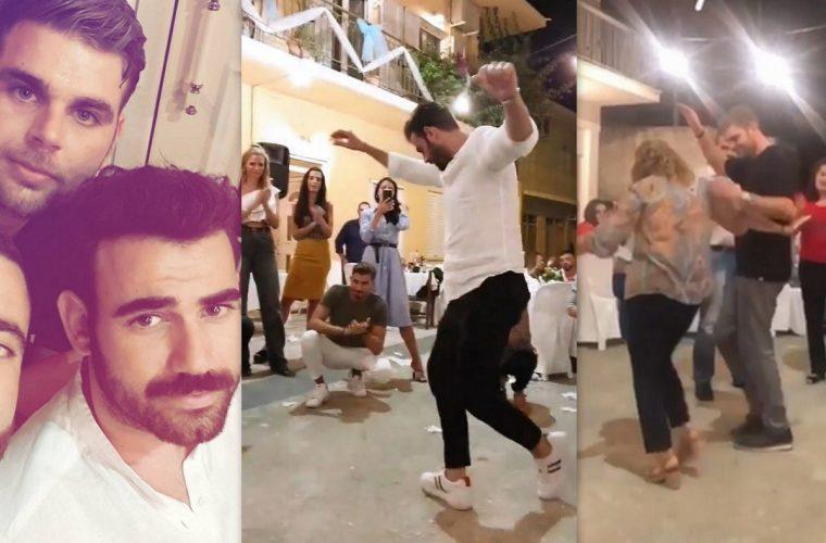 Νίκος Πολυδερόπουλος: Το γλέντι στο χωριό για τον γάμο του αδελφού του (εικόνες &vid)