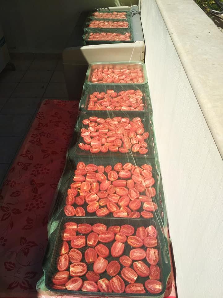 λιαστές ντομάτες βήμα βήμα