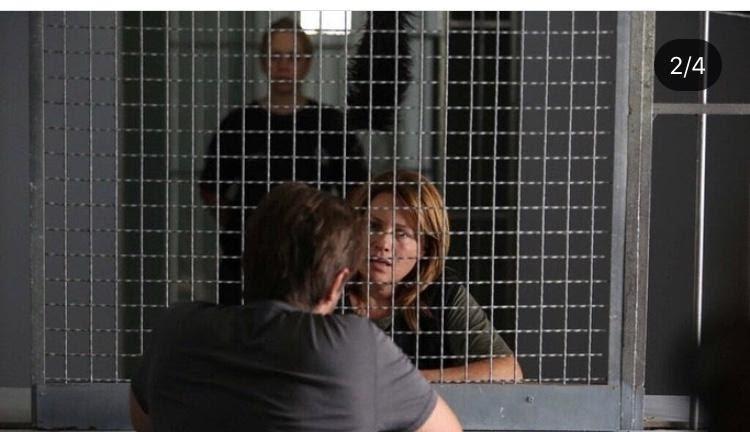 Στη φυλακή η Μαριάννα Τουμασάτου. Οι πρώτες εικόνες!