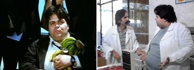 Ο «Φούσκας»της βιντεοκασέτας, ΚώσταςΜακέδος,που αρνείται πλέον να λέει πως είναι ηθοποιός