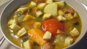 Θρεπτική σούπα λαχανικών-Ιδανική για παιδιά!