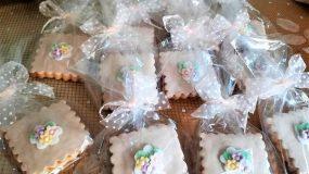 Μπισκότα βουτύρου με ζαχαρόπαστα για κέρασμα!