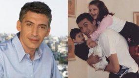 Παναγιώτης Φασούλας: «Όταν έμαθα πως ο γιος μου έχει καρκίνο, δεν ήθελα άλλο τη ζωή μου»