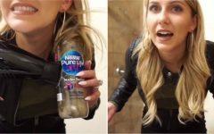 Πως να κάνετε τα μαλλιά σας μπούκλες με ένα μπουκάλι και πιστολάκι-Το κόλπο που έχει τρελάνει το διαδίκτυο