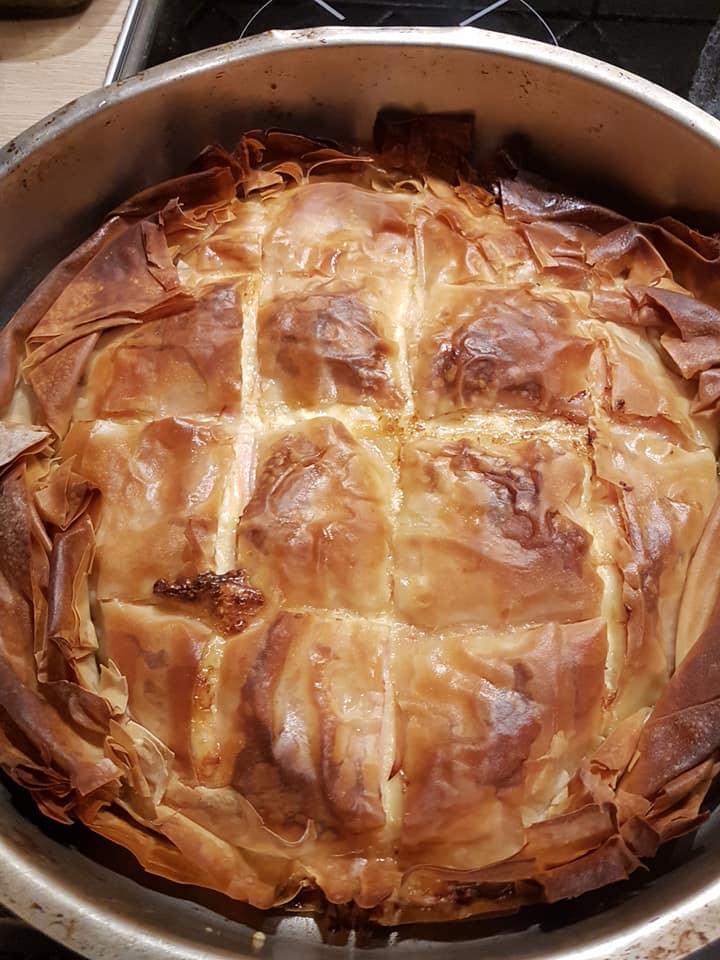 Η φανταστική πίτα της Κούλας Χασανάκου που μας ξετρέλανε