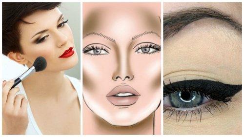 5 Εγγυημένα και Εύκολα κόλπα Μακιγιάζ για να φαίνεται Αδύνατο το πρόσωπό σας!
