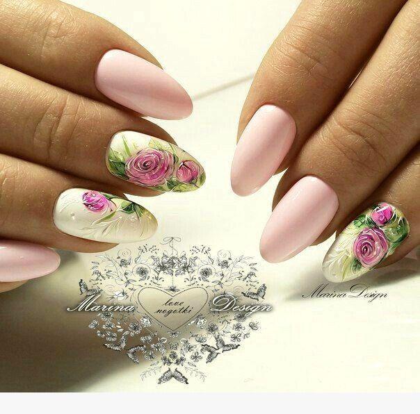 27 Floral σχέδια νυχιών για μανικιούρ σε αποχρώσεις για όλες τις εποχές!