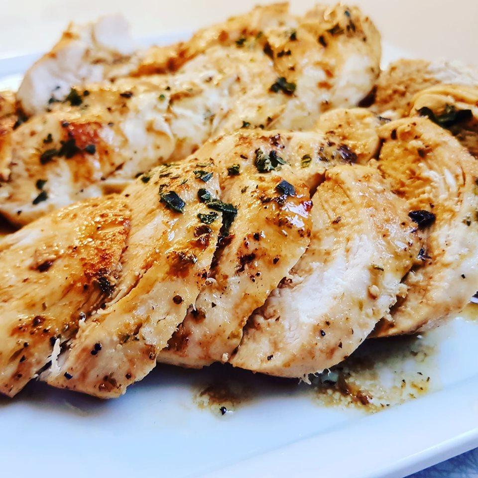 Ζουμερό φιλέτο κοτόπουλο λεμονάτο!