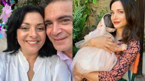 Βασιλική Ανδρίτσου: Δείτε νέες φωτογραφίες από τη βάφτιση της kόρης της!