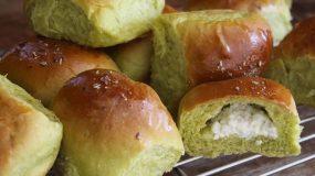 Σούπερ Αφράτα Πρωτότυπα Τυροψωμάκια με Σπανάκι! - Super Fluffy Spinach & Feta Buns