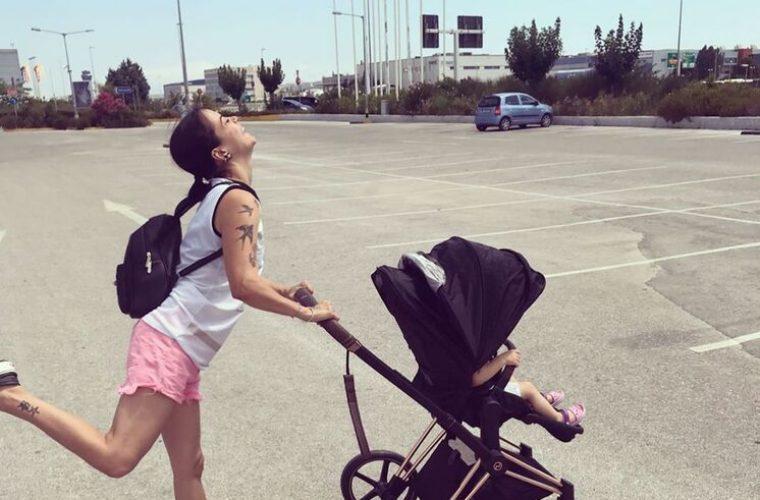 Κατερίνα Τσάβαλου: Δείτε τι φόρεσε η κόρη της μέσα στο σπίτι και έγινε viral!