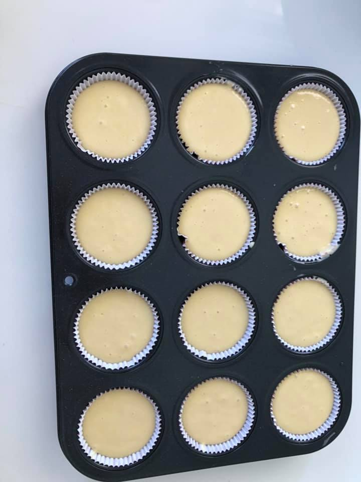 Cupcakes βανίλιας, ιδανικά για κέρασμα ή παιδικό πάρτι