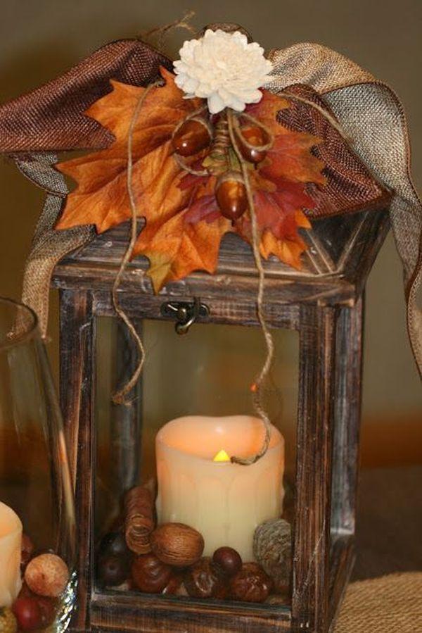 Καλωσορίζουμε το Φθινόπωρο σπίτι μας με υπέροχες συνθέσεις και κεριά!
