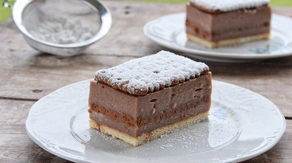 Εύκολη Πάστα Ταψιού με Πραλίνα και Πτι-Μπερ - Easy Nutella Cake